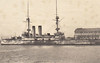 1900 to 1942 - ASAHI - Shikishima Class Battleship - 15200 tons - 129.6 x 22.9 - 1900 John Brown & Co., Clydebank - 4x305mm., 14x152mm, 20x76mm, 4TT - 18 knots - 1904 1st Division, 1st Fleet, 09/02/04 Battle of Port Arthur, 10/08/04 Battle of the Yellow Sea, 26/10/04 struck mine off Port Arthur, badly damaged, 27/05/05 Battle of Tsushima, 1914 Gunnery Training Ship, 1922 disarmed, Training Ship, 1927 Submarine Salvage Ship, 1928 to Reserve, 1937 recommisioned, troop transport, 05/39 Torpedo Depot Ship, 11/40 Camranh Bay, 03/42 Singapore, 26/05/42 torpedoed and sunk by USS SALMON 100nm southwest of Cape Paderas en route Singapore-Kure.