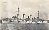 1898 to 1916 - KASAGI - Kasagi Class Protected Cruiser - 4979 tons - 114.1 x 14.9 - 1898 William Cramp & Sons, Philadelphia - 2x203mm, 10x120mm, 12x76mm, 5TT - 22.5 knots - 1900 Boxer Rebellion, 09/02/04 Battle of Port Arthur, 10/08/04 Battle of the Yellow Sea, 27/05/05 Battle of Tsushima, fired first shot of battle, badly holed on waterline, withdrew from battle, 1910 training ship, 20/07/16 ran aground in Tsugaru Strait, 10/08/16 sank.