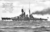 1913 to 1944 - KONGO - Kongo Class Battlecruiser - 36600 tons - 222.0 x 31.0 - 1913 Vickers Ltd., Barrow - 8x356mm, 16x152mm, 8x76mm, 8TT - 30 knots - 08/14 capture of German Pacific colonies, 12/18 to Reserve, 1927 refit, pagoda mast added, 09/29 modernisation and refit, new engines fitted, forward funnel removed, reclassified as Fast Battleship, 12/31 Flagship of Combined Fleet, 1935 refit and rebuild, extra armour added, catapults added, bridge structure heightened, 02/37 2nd Battleship Divn., China, 12/41 Thailand and Malaya, 02/42 East Indies, 04/42 Ceylon, 04/06/42 Battle of Midway, 09/42 Guadalcanal, 26/10/42 Battle of Santa Cruz Islands, 11/42 Truk, 01/44 refit, extra AA guns added, 19/06/44 Battle of the Philippine Sea, 24/10/44 Battle of Sibuyan Sea, 25/10/44 Battle of Samar, damaged, sand US destroyer SAMUEL B ROBERTS (DE413), 21/11/44 torpedoed by USS SEALION (SS315), badly damaged, sank at 0525, over 1200 dead.