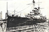 1902 to 1923 - MIKASA - Pre-Dreadnought Battleship - 15140 tons - 131.7 x 23.2 - 1902 Vickers Shipbuilding Ltd., Barrow - 4x12in., 14x6in., 20x3in., 4TT - 18 knots - 09/02/04 Battle of Port Arthur, 10/08/04 Battle of the Yellow Sea, hit 20 times, 125 casualties, 27/05/05 Battle of Tsushima, 11/09/05 internal explosion at Sasebo, sank at moorings, 251 dead, 08/08 recommisioned, 1914 coast defence duties, 1921 Russian Civil War, Siberia, 09/23 decommisioned, 11/26 museum ship at Yokosuka - still in existence.