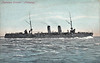 1898 to 1904 - TAKASAGO - Takasago Class Protected Cruiser - 4160 tons - 118.2 x 14.8 - 1898 Armstrong Whitworth Ltd., Elswick - 2x203mm, 10x152mm, 12x76mm, 5TT - 23.5 knots - 1900 Boxer Rebellion, 1904 Blockade of Port Arthur, took Russian merchantman MANCHURIA as a prize, 10/08/04 Battle of the Yellow Sea, 13/12/04 struck mine off Port Arthur, magazine exploded, sank, 273 dead.