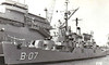 1969 to 2001 - COAHUILA (B07) - Buckley Class Destroyer Escort - 1400 tons - 93.0 x 11.0 - 1943 Norfolk Navy Yard, Portsmouth, Virginia - 1x5in., 3x40mm, 8x20mm - 23 knots - 1944 commissioned as BARBER (DE161), 1945 converted to High Speed Transport (APD57), 1969 to Mexico as COAHUILA (B07), 2001 decommissioned, sold for breaking.