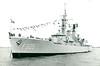 1967 to 1987 - VAN NES (F805) - Van Speijk Class Frigate - 2850 tons - 113.4 x 12.5 - 1967 Scheeps De Royal Schelde, Vlissingen, No.322 - 2 x 4 Seacat GWS22 SAM, 1 x 2 - 120mm, 1 x 3 Limbo Mk 10 ASWRL, 1 helicopter (Wasp HAS.1) - 28.5 knots - 08/81 rearmed  (1 x 3 Limbo ASWRL, DA-02 radar, 2 x 4 Harpoon SSM, 1 x 1 - 76mm OTO Melara, 6TT, hangar was enlarged for Lynx helicopter) - 11/88 sold to Indonesia as OSWALD SIAHAAN (354) - still in service - seen here in May 1969.