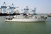 1986 to DATE - URK (M861) - 'Tripartite' Class Minehunter - 605 tons - 51.5 x 9.0 - 1x20mm - 15 knots - at Zeebrugge, 30/04/09.