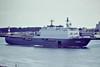 1998 to DATE - ROTTERDAM (L800) - Rotterdam Class Landing Platform Dock - 12750 tons - 166.0 x 25.0 - 1998 Royal Schelde Shipyards - 2x30mm CIWS, 4x20mm, 6 h/c - 19 knots - Rotterdam, inward bound on the New Waterway, 04/09/08.