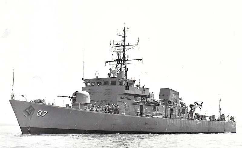 1987 to DATE - ARTEMIO RICARTE (PS37) - Peacock Class Patrol Boat - 783 tons - 62.6 x 10.0 - 1984 Hall, Russell & Co., Aberdeen as HMS STARLING (P241) - 1x76mm., 1x25mm. M242 Bushmaster, 2x20mm. - 25 knots - 08/97 to Philippines as ARTEMIO RICARTE (PS37) - still in service.