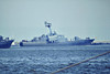 1989 to DATE - ROLNIK (437) - Gornik (Tarnatul II) Class Corvette - 385 tons - 56.1 x 11.5 - 1989 River Shipyard No.341, Rybinsk - 1x76mm, 2x30mm, 2x2 SS-N-2C Styx SSM, SA-N-5 Grail SAM - 42 knots - seen here sailing from Gdynia, 05/08.