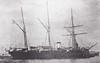 1888 to 1904 - KORIETZ - Korietz Class Gunboat - 1355 tons - 66.3 x 10.7 - 1888 Bergsund Mekaniksa, Stockholm - 2x203mm, 1x152mm, 4x47mm, 4x37mm, 1TT - 13.5 knots - 1895 Pacific Fleet, 06/00 Boxer Rebellion, damaged, 9 dead, 02/04 Chemulpo, 09/02/04 Battle of Chemulpo Bay, slightly damaged, returned to Chemulpo, scuttled.