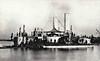 1874 to 1903 - NOVOGOROD - Novgorod Circular Ironclad Monitor - 2671 tons - 30.8m diameter - 1874 Nikolayev Shipyard, St Petersburg - 2x11in., 16x37mm - 7 knots - 1877 Russo-Turkish War, Danube Flotilla, 1892 Coast Defence Ship, 1903 storeship, 1912 broken up.