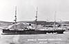 1882 to 1907 - PAMIAT MERKURIA - Unarmoured Cruiser - 2997 tons - 90.0 x 12.4 - 1882 Forges et Chantiers de la Seyne, Le Havre - 6x152mm, 4x102mm, 4x47mm, 4x37mm, 4TT - 14 knots - 1882 completed as YAROSLAVL, renamed 1883, 1890 rearmed with 4x107mm, 2x63mm, 4x47mm, 1x44mm, 2x37mm, 2TT - 1907 hulked, 1939 broken up - seen here on 1891