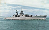 1963 to 1990 - PRESIDENT STEYN (F147) - President Class Type 12 Frigate - 2,560 tons - 110.0 x 12.5 - 1963 Alexander Stephen & Sons, Glasgow, No.669 - 2x4.5in., 2x40mm, 2x20mm, 1 h/c - 31 knots - April 29th 1991 sunk as a target - posted January 12th, 1974.