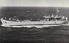 1955 to ???? - BI BONG (LST809) - Ex-USN LST1 Class Tank Landing Ship - 3880 tons - 107.5 x 16.4 - 1943 Chicago Bridge & Iron Co., Seneca, IL as LST218 (1943-55) - 8x40mm - 11 knots - 12/43 Gilbert Islands, 01/44 Kwajalein, 02/44 Eniwetok, 07/44 Saipan, 08/44 Tinian, 11/50 to Reserve, 03/55 to South Korea as BI BONG (LST809), 1979 still in service - seen here in 1969.