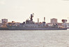 1990 to DATE - CHE JU (FF958) - Ulsan Class ASW Frigate - 2350 tons - 103.7 x 12.5 - 1990 Daewoo Heavy Industries, Okpo - 2x76mm, 2x30mm, 3x2 40mm CIWS, 8xHarpoon SSM, 6TT - 34 knots - still in service - seen here in 11/91.