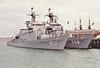 1986 to DATE - CHUNG NAM (FF953) - Ulsan Class ASW Frigate - 2350 tons - 103.7 x 12.5 - 1986 Busan Korea Shipbuilding - 2x76mm, 3x2 40mm CIWS, 8xHarpoon SSM, 6TT - 34 knots - still in service - seen here in 11/91 with CHE JU (FF958).