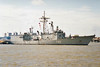 1987 to DATE - VICTORIA (F82) - Santa Maria Class Frigate - 4177 tons - 138.8 x 14.3 - 1987 Astilleros Bazan, Ferrol - 1x76mm, 1xHarpoon SSM, 1xSM1 SAM, 1x20mm CIWS, 3ASW TT, 1 h/c - 30 knots - still in service.