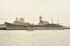 1988 to 2013 - PRINCIPE DE ASTURIAS (R11) - Principe de Asturias Class Aircraft Carrier - 16700 tons - 195.9 x 24.3 - 1988 Astilleros Bazan, Ferrol - 4x20mm CIWS, 12x20mm, 29 a/c - 26 knots - 2013 decommissioned.