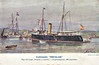 1911 to 1932 - RECALDE - Recalde 1st Class Gunboat - 787 tons - 65.5 x 9.1 - 1911 SECN, Cartagena - 4x76mm - 13.5 knots - 1932 sold for breaking.