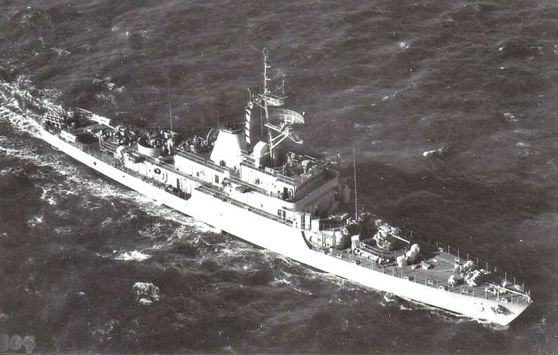 1971 to DATE - TAPI (5) - Tapi Class Corvette - 885 tons - 84.0 x 10.0 - 1971 American Shipbuilding Corpn., Toledo, OH - 2x76mm, 2x40mm, 6TT - 20 knots - still in service.