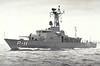 1974 to ???? - CONSTITUCION (P11) - Constitucion Class Fast Attack Craft - 150 tons - 36.9 x 7.6 - 1974 Vosper Thorneycroft Ltd, Southampton - 1x76mm - 27 knots - seen here on trials in 10/74.