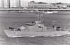 1974 to ???? - VICTORIA (P16) - Constitucion Class Fast Attack Craft - 150 tons - 36.9 x 7.6 - 1974 Vosper Thorneycroft Ltd, Southampton - 1x76mm - 27 knots - seen here on trials in 1976.