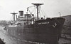 FORT CUMBERLAND - Cargo - 'North Sands' Type - 7134GRT/10330DWT - 134.6 x 17.4 - 1943 Burrard Drydock Co., Vancouver, No.172 - 1950 CAPE FRANKLIN, 1956 AFRICAN SKY - 10/66 broken up at Yokosuka - seen here as CAPE FRANKLIN (Lyle Shipping Co.)