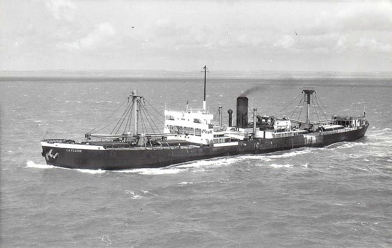 FORT ALBANY - 'North Sands' Type - 7131GRT/10000DWT - 134.6 x 17.4 - 1943 Davie Shipbuilding Corpn., Lauzon, No.544 - 1948 LA FLECHE - 08/61 broken up at Mihara.
