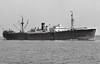 OCEAN ATHLETE - Cargo - 7174GRT/10490DWT - 134.6 x 17.4 - 1942 Todd-Bath Shipbuilders, Portland, No.18 - 1943 GOVERT FLINCK, 1947 TERNATE, 1959 KASERT, 1960 HO PING 75, 1967 ZHAN DOU 75 - 1985 broken up in China - seen here as TERNATE (Rotterdam Lloyd).