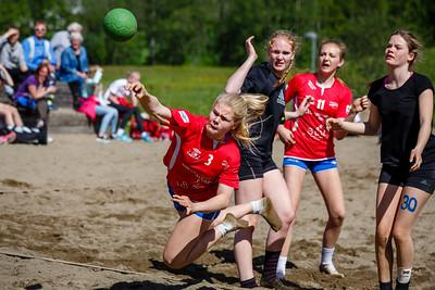 Bilde fra Skedsmo HK sin  Beach Cup 2015.  Foto:  Bjørn Kristiansen, www.bkphoto.no