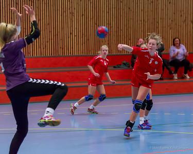 Bring cup i Tærudhallen, 13. Desember 2014. Jenter 16.   Gran - Skedsmo HK