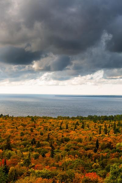 Autumn over Lake Superior