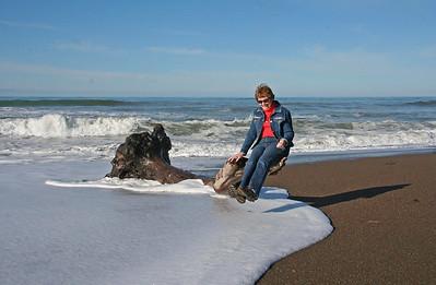 Moonstone Beach, Cambria, California - Dec 29 2009