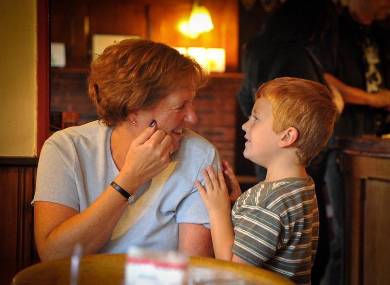 Paul &  his mum