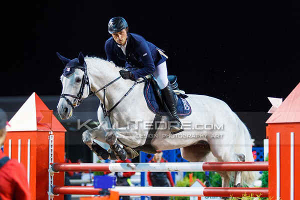 Vital DZIUNDZIKAU - PEPITTA @ Tallinn International Horse Show 2014, 130-135 cm open class on Friday, presented by Tere Kššk. Foto: Kylli Tedre / www.kyllitedre.com