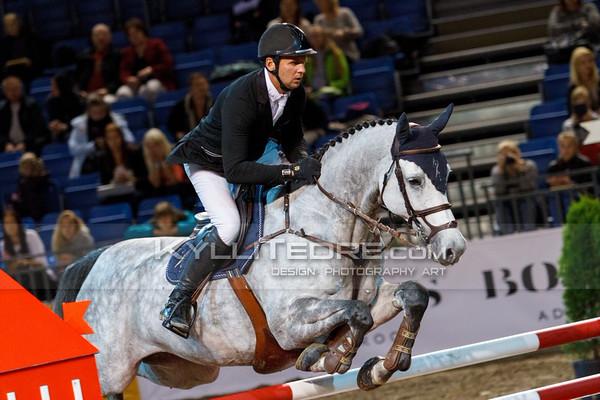 Andis VARNA - BUCRETIA @ Tallinn International Horse Show 2014, 130-135 cm open class on Friday, presented by Tere Kššk. Foto: Kylli Tedre / www.kyllitedre.com