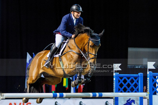 Vladimir BELETSKIY - GRIFFONE @ Tallinn International Horse Show 2014, 130-135 cm open class on Friday, presented by Tere Kššk. Foto: Kylli Tedre / www.kyllitedre.com