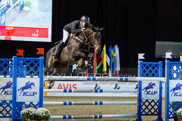 Matas PETRAITIS - SOLI DEO GLORIJA @ Tallinn International Horse Show 2014, 130-135 cm open class on Friday, presented by Tere Kššk. Foto: Kylli Tedre / www.kyllitedre.com