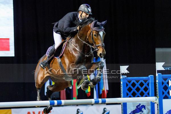 Urmas RAAG - CARLOS @ Tallinn International Horse Show 2014, 130-135 cm open class on Friday, presented by Tere Kššk. Foto: Kylli Tedre / www.kyllitedre.com