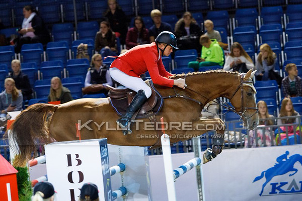 Andres UDEK†LL - HENRIETTA @ Tallinn International Horse Show 2014, 130-135 cm open class on Friday, presented by Tere Kššk. Foto: Kylli Tedre / www.kyllitedre.com