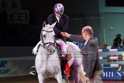 Kristupas PETRAITIS - LORDANO, Hillar Talts @ Tallinn International Horse Show 2014, Friday 140 cm presented by Borenius. Foto: Kylli Tedre / www.kyllitedre.com