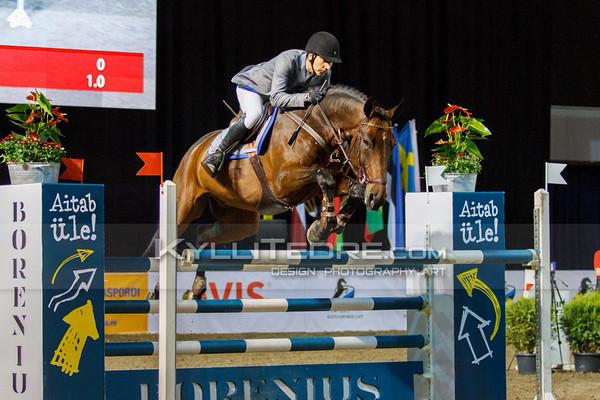 Gunnar KLETTENBERG - TRAFFIC @ Tallinn International Horse Show 2014, Friday 140 cm presented by Borenius. Foto: Kylli Tedre / www.kyllitedre.com