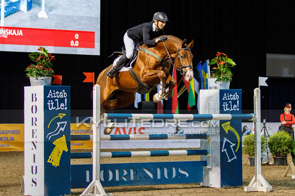 Kairi DRABTSINSKAJA - PERON @ Tallinn International Horse Show 2014, Friday 140 cm presented by Borenius. Foto: Kylli Tedre / www.kyllitedre.com