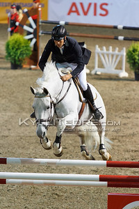 Tiit KIVISILD - CINNAMON @ Tallinn International Horse Show 2014, Friday 140 cm presented by Borenius. Foto: Kylli Tedre / www.kyllitedre.com