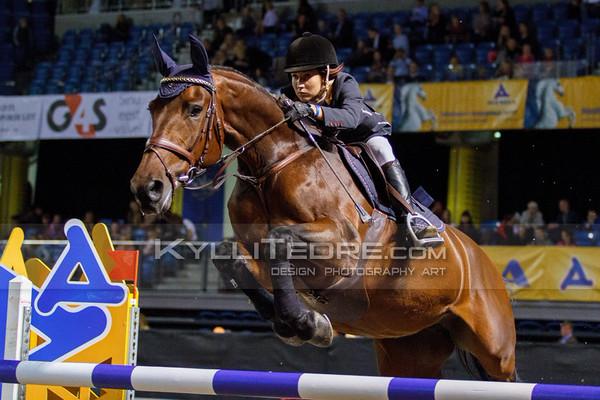 Kertu KLETTENBERG - ULRIKE R @ Tallinn International Horse Show 2014, Friday 140 cm presented by Borenius. Foto: Kylli Tedre / www.kyllitedre.com