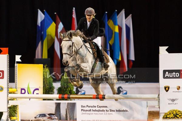 Maria Tsyrulnikova - CALLEDIUS @ Tallinn International Horse Show 2014 harrastajate parkuur, 100 cm. Foto: Kylli Tedre / www.kyllitedre.com