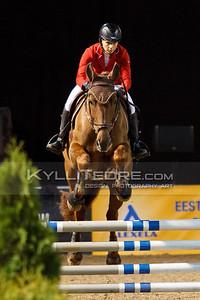 Urve Aavik - PORTOS @ Tallinn International Horse Show 2014 harrastajate parkuur, 100 cm. Foto: Kylli Tedre / www.kyllitedre.com