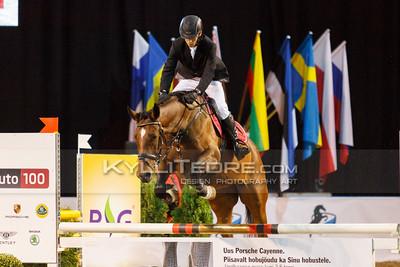 Priit Perna - HERMELA @ Tallinn International Horse Show 2014 harrastajate parkuur, 100 cm. Foto: Kylli Tedre / www.kyllitedre.com