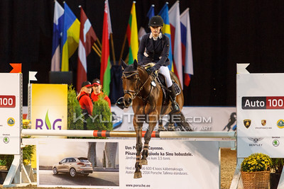 Erle Raudam - JAFFARY @ Tallinn International Horse Show 2014 harrastajate parkuur, 100 cm. Foto: Kylli Tedre / www.kyllitedre.com