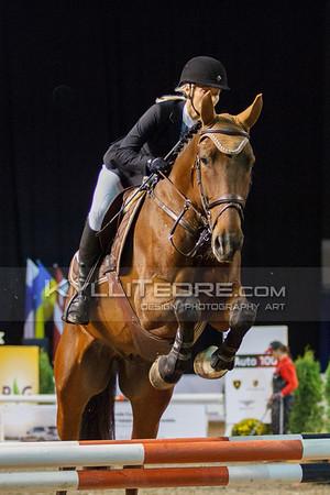 Kelli Bachmann - WALTER S @ Tallinn International Horse Show 2014 harrastajate parkuur, 100 cm. Foto: Kylli Tedre / www.kyllitedre.com
