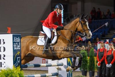 Kailyn Koidumaa - UNATA @ Tallinn International Horse Show 2014 harrastajate parkuur, 100 cm. Foto: Kylli Tedre / www.kyllitedre.com