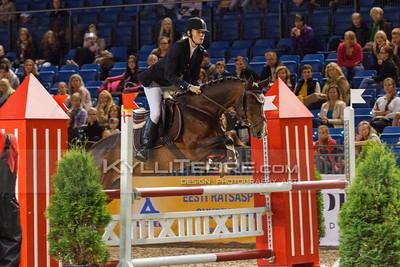 Kätlin Kivirand - ORDERLY QUEEN @ Tallinn International Horse Show 2014 harrastajate parkuur, 100 cm. Foto: Kylli Tedre / www.kyllitedre.com